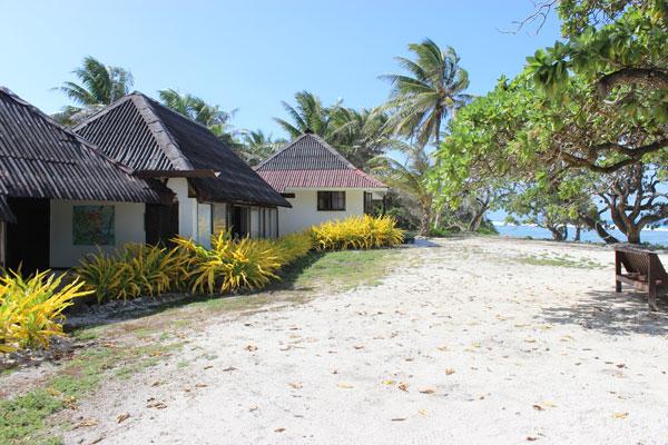 chambres sur la plage